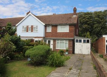 Thumbnail 3 bed end terrace house for sale in Langdale Avenue, Chichester, West Sussex