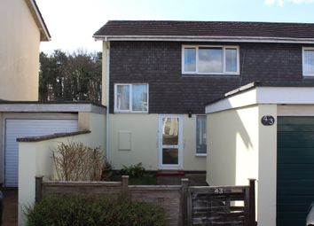 Thumbnail 2 bed semi-detached house to rent in Poundsland, Broadclyst, Exeter