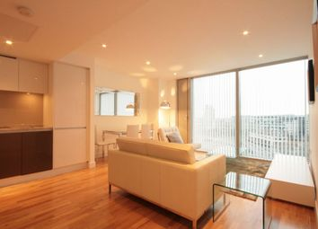 Thumbnail 1 bed flat to rent in The Landmark, West Tower, 22 Marsh Wall, 22 Marsh Wall, London