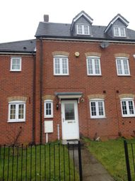 Thumbnail 3 bed town house to rent in Watnall Road, Hucknall, Nottingham