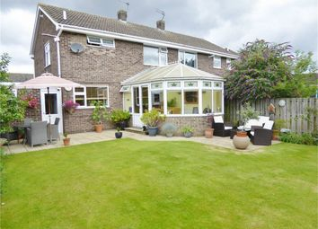 Thumbnail 3 bed semi-detached house for sale in Keble Drive, Bishopthorpe, York