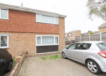 Thumbnail 3 bed semi-detached house to rent in Oates Road, Romford, Essex