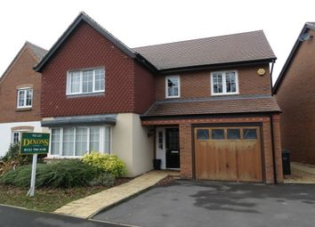 Thumbnail 4 bed detached house to rent in 22 St. Phillips Grove, Bentley Heath, Solihull