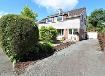 Thumbnail 3 bed semi-detached house for sale in Hume Crescent, Bridge Of Allan