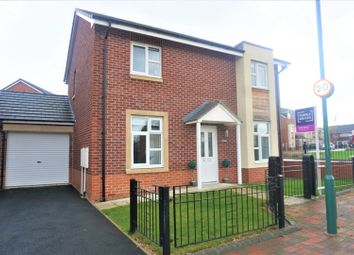 Thumbnail 3 bed detached house for sale in Lynwood Way, South Shields
