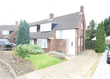 Thumbnail 3 bed semi-detached house for sale in Gables Avenue, Borehamwood