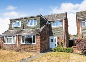 Thumbnail 3 bed semi-detached house for sale in Newbolt Close, Thatcham