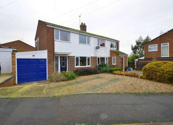 Thumbnail 3 bed semi-detached house for sale in Mill Road, Bozeat, Wellingborough