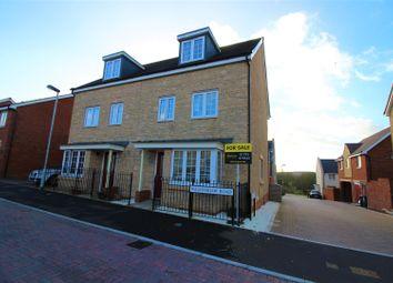 Thumbnail 4 bed semi-detached house for sale in Walkinshaw Road, Swindon