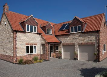 Thumbnail 4 bed detached house for sale in Angel Court, Ancaster, Grantham