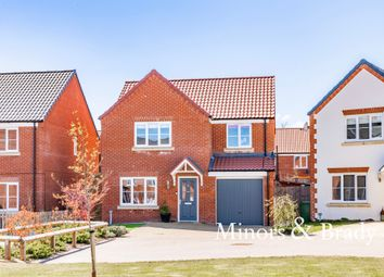 Thumbnail 4 bed detached house for sale in Duncan Way, North Walsham