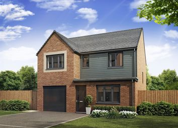 "Thumbnail 4 bed detached house for sale in ""The Longthorpe "" at Heyford Avenue, Buckshaw Village, Chorley"