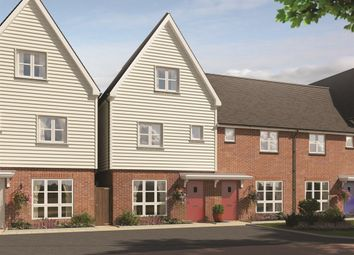 Thumbnail 3 bed town house for sale in Juniper Park, Berryfields, Aylesbury