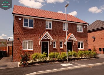 Thumbnail 3 bedroom semi-detached house to rent in High Hall Way, Prescot, Merseyside