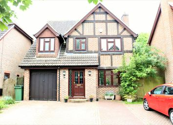 Thumbnail 4 bed detached house for sale in Petworth Close, Basingstoke