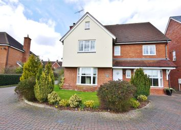 Thumbnail 4 bed detached house for sale in The Gables, Ongar, Essex
