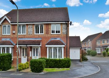 Thumbnail 3 bed semi-detached house to rent in Horseshoe End, Newbury