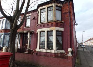 Thumbnail 4 bed end terrace house for sale in Walton Hall Avenue, Walton, Liverpool, Merseyside