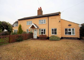 Thumbnail 4 bed detached house to rent in The Street, Ovington, Thetford