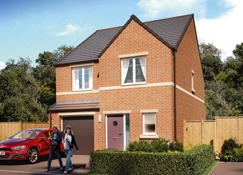 "Thumbnail 4 bed detached house for sale in ""The Ashbury"" at Harrogate Road, Apperley Bridge, Bradford"