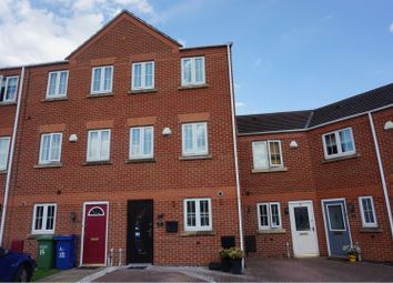 Thumbnail 4 bed town house for sale in Eaton Drive, Rugeley