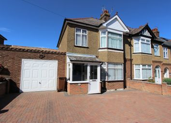 Thumbnail 3 bed semi-detached house to rent in Hunters Way, Gillingham, Kent