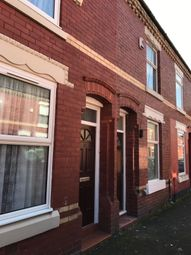 Thumbnail 3 bedroom shared accommodation to rent in Newport Street, Rusholme, Manchester