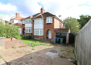 Thumbnail 3 bed semi-detached house for sale in Basing Hill, Wembley Park
