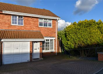 Thumbnail 3 bed semi-detached house for sale in Sydnall Close Webheath, Redditch, Worcestershire