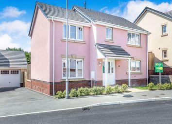 Thumbnail 3 bed detached house for sale in Clos Yr Eryr, Coity, Bridgend