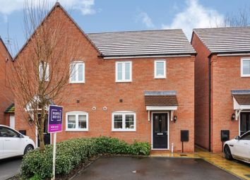 Thumbnail 2 bed semi-detached house for sale in Blenheim Road, Stratford-Upon-Avon