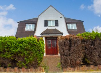 Thumbnail 4 bed detached house for sale in Rosecroft Walk, Pinner, Middlesex