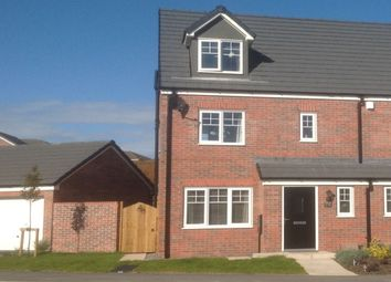 Thumbnail 4 bed semi-detached house for sale in Pear Tree Gardens, Walton-Le-Dale, Preston