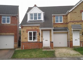 Thumbnail 3 bed semi-detached house to rent in Granville Road, Scunthorpe
