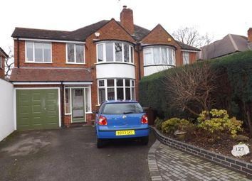 Thumbnail 4 bedroom semi-detached house for sale in Ralph Road, Solihull, West Midlands