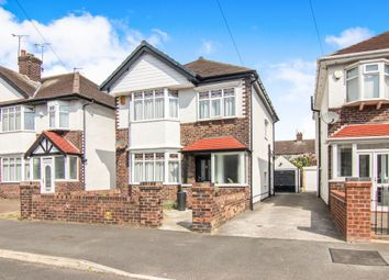 Thumbnail 3 bed detached house for sale in Aysgarth Road, Wallasey