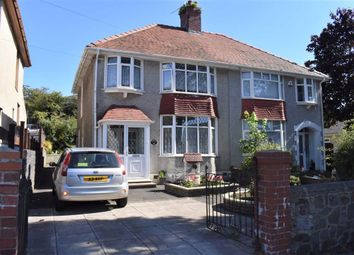 Thumbnail 3 bed semi-detached house for sale in Station Road, Fforestfach, Swansea