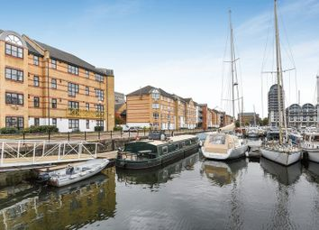 Thumbnail 2 bed flat to rent in Windsock Close, South Dock Marina, Surrey Quays