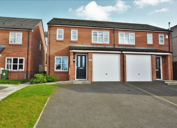 Thumbnail 3 bed semi-detached house for sale in Millrigg Street, Workington