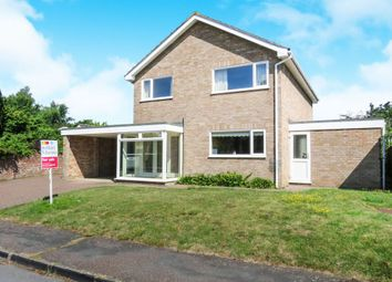 Thumbnail 4 bed detached house for sale in Hall Hills, Roydon, Diss