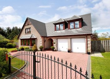 Thumbnail 5 bedroom detached house for sale in Hallwood Park, Midmar, Inverurie