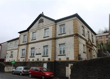 Thumbnail 1 bed flat for sale in Meadowhall Court, Senghenydd, Caerphilly