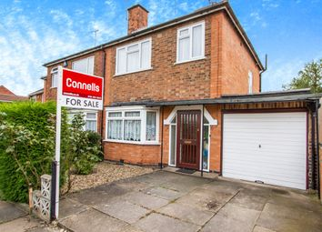 Thumbnail 3 bedroom semi-detached house for sale in Aber Road, Stoneygate, Leicester