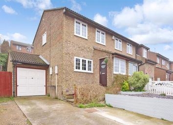 Thumbnail 3 bed semi-detached house for sale in Illustrious Close, Walderslade, Chatham, Kent