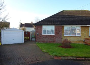 Thumbnail 2 bed semi-detached bungalow for sale in Limecroft Close, Ipswich