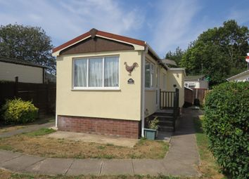 Thumbnail 1 bed mobile/park home for sale in Dukesmead Mobile Home Park, Werrington, Peterborough