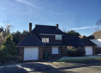 Thumbnail 4 bed detached house to rent in The Paddocks, Weybridge, Surrey