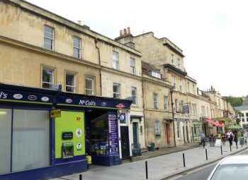 Thumbnail 1 bedroom flat for sale in Widcombe Parade, Bath