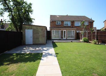 Thumbnail 3 bed semi-detached house to rent in Bowyers Close, Hitchin