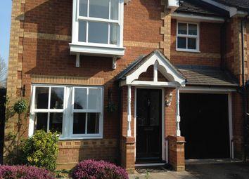 Thumbnail 3 bedroom end terrace house to rent in Verbena Close, Winnersh, Wokingham